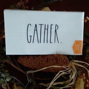 Rae Dunn Thanksgiving Gather Napkins